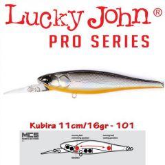 Vobler Lucky John Kubira 110 Plus One 11cm, culoare 101