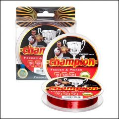 Fir monofilament EnergoTeam Champion Feeder Picker Red 0.18mm/4.55kg/150m