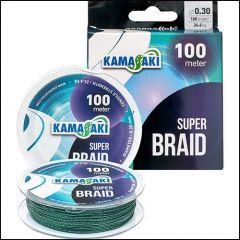 Fir textil Kamasaki Super Braid Green 0.14mm/11.2kg/100m