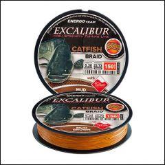 Fir Textil EnergoTeam Excalibur Catfish 8 Yarn Braid Brown 0.25mm/18.18kg/150m