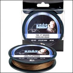 Fir Kevlar Koos Catfish RIG-IT 0.60mm/20m dark brown