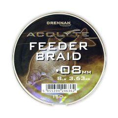 Fir textil Drennan Acolyte Feeder Braid 0.08mm/3.6kg/150m