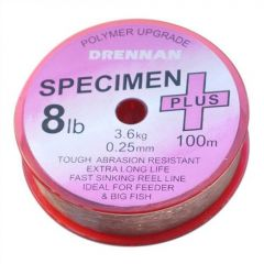 Fir monofilament Drennan Specimen Plus 0.14mm/2,5lb/100m