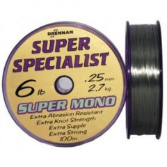 Fir monofilament Drennan Super Specialist 0.25mm/6lb/100m