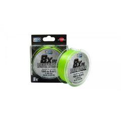 Fir textil Asso 8X PE Light Games Fluo Chartreuse 0.128mm/6.35kg/150m
