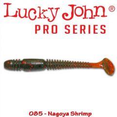 Shad Lucky John Tioga 8.6 cm, culoare Nagoya Shrimp - 6 buc/plic