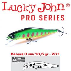 Vobler Lucky John Basara SP 9cm, culoare 201