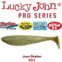 Shad Lucky John Joco Shaker 8.9cm, culoare F01 - 4 buc/plic