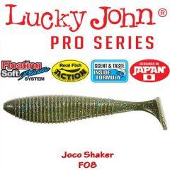 Shad Lucky John Joco Shaker 8.9cm, culoare F08 - 4 buc/plic