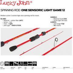 Lanseta Lucky John One Sensoric Light Game 12 - 2.25m (1.5-12gr)