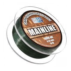 Fir monofilament Asso Mainline Green 0.35mm/7.2kg/1000m