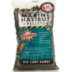 Pelete Dynamite Baits Marine Halibut Pellet Pre-Drilled 16mm  900g
