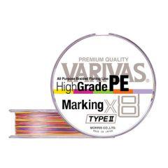 Fir textil Varivas High Grade PE Marking Type II X8 0.165mm/20lb/150m