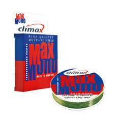 Fir monofilament Climax Max Mono Olive 0.14mm/1.9kg/100m