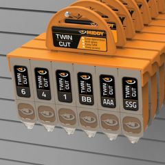 Set plumbi Middy Cut Dispenser - 6 compartimente