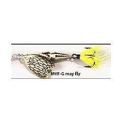 Rotativa Mepps Thunder Bug, marimea 0, May Fly-Gold, 2.5gr