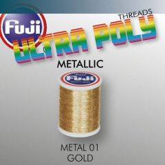 Ata matisaj Fuji Metallic #50/100m - Gold 901