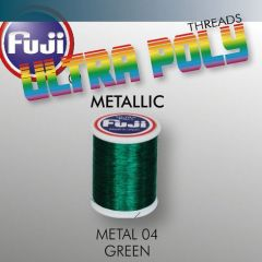 Ata matisaj Fuji Metallic #50/100m- Green 904