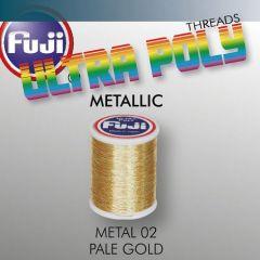 Ata matisaj Fuji Metallic #50/100m- Pale Gold 902