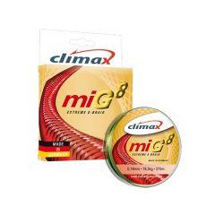Fir textil Climax MIG8 Extreme 8-Braid Olive Green 0.10mm/7.9kg/135m