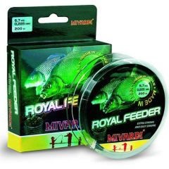Fir monofilament Mivardi Royal Feeder 0,225mm/6,70kg/200m