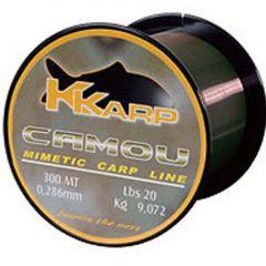 Fir monofilament K-Karp Camou 0,28mm/9kg/600m