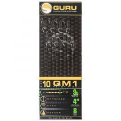 Carlige legate Guru QM1 Standard Hair Rig Barbless Nr.14, 0.17mm