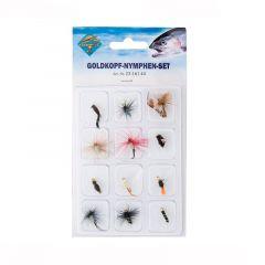 Set muste Behr Artificial Flies 23-18611