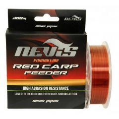 Fir monofilament Nevis Red Carp Feeder 0.18mm