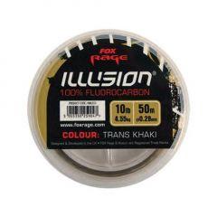 Fir fluorocarbon Fox Rage Illusion trans khaki 0.25mm/3.66kg/50m