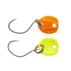 Lingurita oscilanta Neo Style Bottom Killer 0.7g, culoare Super Fluo Glossy Orange/Yellow