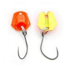 Lingura Bottom Neo Style Premium 1.8g culoare 05 Super Fluo Glossy Orange/Yellow