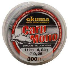 Fir monofilament Okuma Carp Mono 0,33mm/7,3Kg/300m