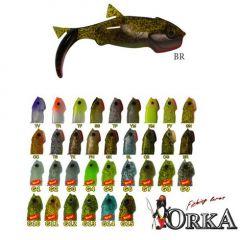 Shad Orka Gegule 7cm, culoare G4 - 5 buc/plic