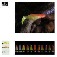Shad Orka 6cm, culoare YB - 10 buc/plic