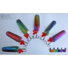 Lingura oscilanta Bertilure Piscot Nr. 3, Dr.Skin, culoare Rainbow, 11 grame