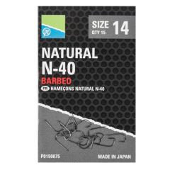 Carlige Preston Natural N-30 Nr.12