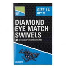 Varteje Preston Diamond Eye Match Swivels Nr.10