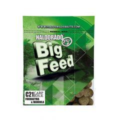 Boilies Haldorado Big Feed C21 Usturoi Mandula, 21mm, 800g