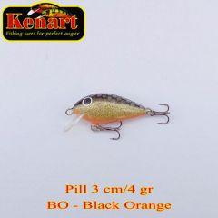 Vobler Kenart Pill S 3cm, culoare BO
