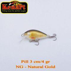 Vobler Kenart Pill S 3cm, culoare NG