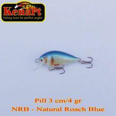 Vobler Kenart Pill S 3cm, culoare NRB