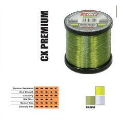 Fir fluorocarbon coated P-Line CX Premium Moss Green 0,31mm/9,18kg/2000m