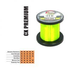 Fir fluorocarbon coated P-Line CX Premium Hi-Vis Fluorescent Green 0,28mm/7,95kg/1000m
