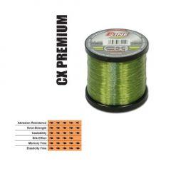 Fir fluorocarbon coated P-Line CX Premium Moss Green 0,36mm/14,81kg/1000m