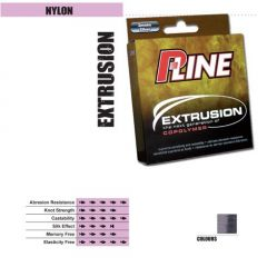 Fir monofilament P-Line Extrusion Smoke Silver  0,18mm/4,315kg/150m