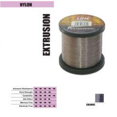 Fir monofilament P-Line Extrusion Smoke Silver  0,35mm/16,49kg/1000m