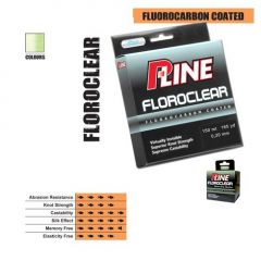 Fir fluorocarbon coated P-Line Floroclear Mist Green 0,30mm/10,42kg/1000m