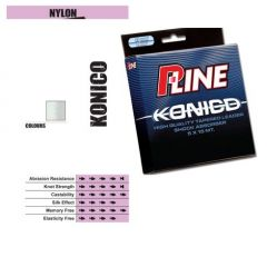 Fir monofilament P-Line Konico  Clear 0,23mm-0,57mm