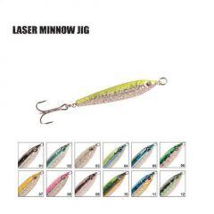 Pilker P-Line Laser Minnow 21gr/6cm, culoare 05